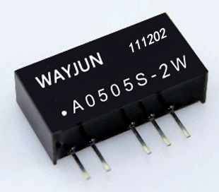 Fixed input,Unregulated Dual output,2W A series